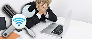 Ноутбук не подключается к wifi хотя wi-fi видит